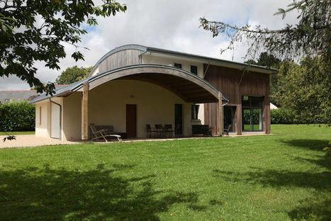 Détails d'Architecture – Maison bioclimatique à Pluvigner | architecture..., Maisons bois & bioclimatiques | Scoop.it
