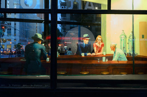 Edward Hopper's nighthawks recreated as 3D pop-up installation | Design Stories | Scoop.it