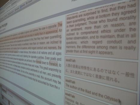 Textus : une solution d'annotation Open Source et collaborative   SoBookOnline   L'Oeil de demain   Scoop.it
