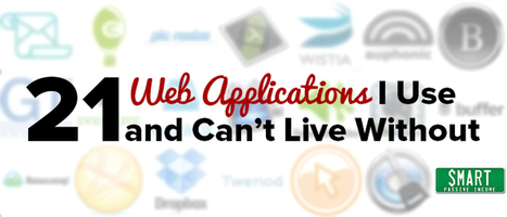 21 Web Applications I Use and Can't Live Without | Social Media Useful Info | Scoop.it