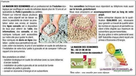 Timeline Photos - La Maison des Economies | Facebook | #Devis en ligne #Travaux #Isolation #ouate de cellulose #Poêle à #Granulés | Scoop.it