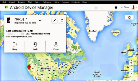 Remotely Lock or Reset your lost or stolen Android device with Android Device Manager. - Informer Grid | informercentral | Scoop.it