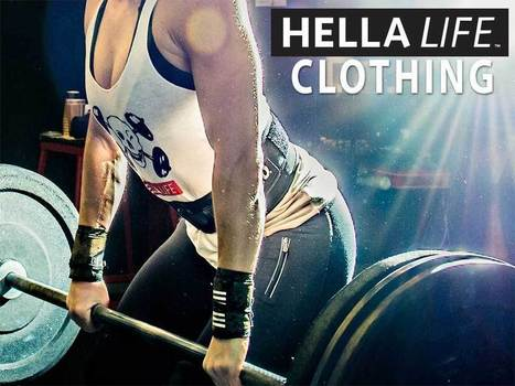 CrossFit Gear for Sale | HellaLife | fitness apparel and crossfit gear | Scoop.it