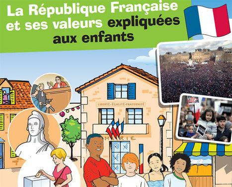 Premier anniversaire de la marche du 11 janvier - Ministère de l'Éducation nationale | FLE enfants | Scoop.it