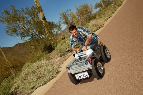 Smallest Roadworthy Car enters Guinness Book of World Records [w/video]   Heron   Scoop.it
