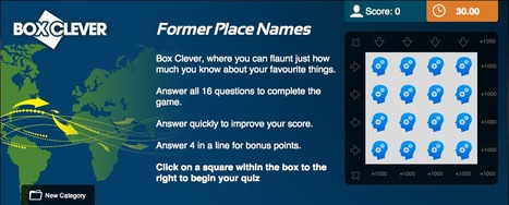 Former Place Names Quiz | Geography Education | Scoop.it
