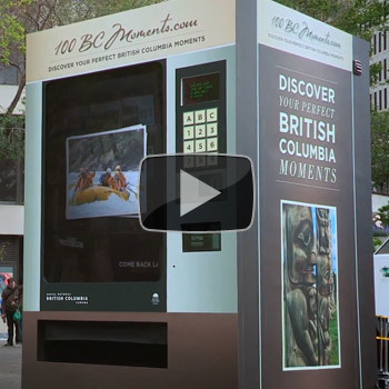 Tourism British Columbia: The Vending Machine | Travelled | Scoop.it