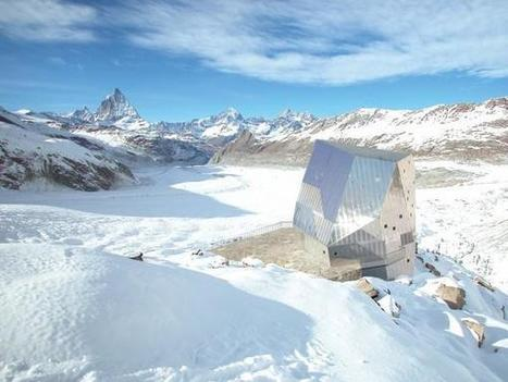 morfoLL: Monte Rosa Hut | Architecture and Design | Scoop.it
