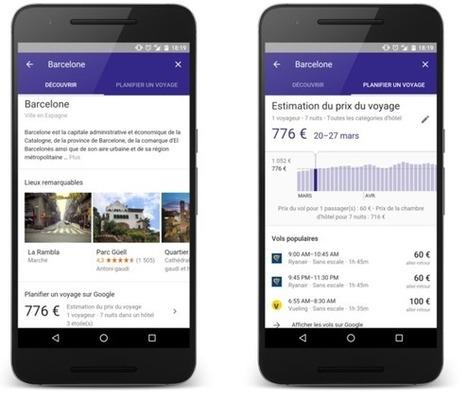 Google veut remplacer les OTA avec son outil « Destinations » | Le tourisme pour les pros | Scoop.it