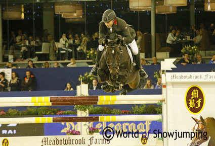 John Whitaker wins the Grand Prix in Amsterdam on Argento   Red Horse News   Scoop.it