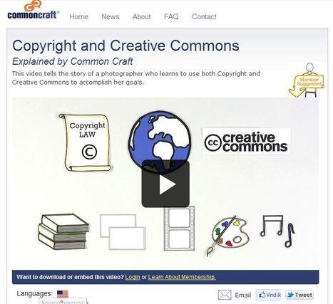 Copyright and Creative Commons | Common Craft | Auteursrecht en Creative Commons | Scoop.it