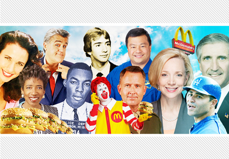 Golden Opportunity: 10 Famous People Who Started Their Careers At McDonald's (And Loved It) | Rich, Famous, and Inspiring | Scoop.it