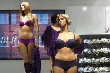 PHOTO: Retailer's Full-Figured Mannequins In Lingerie Go Viral | Consumption Junction | Scoop.it