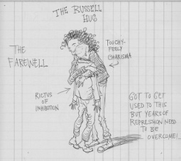 Working on a children's book with Russell Brand – pages from Chris Riddell's sketchbook... | Art for art's sake... | Scoop.it