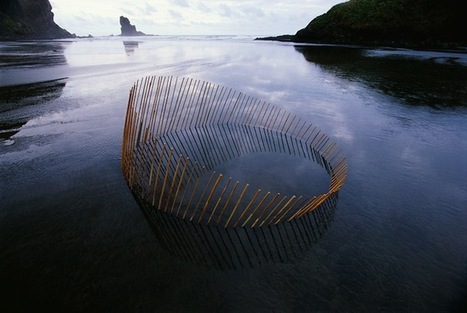 Stunning Land Art Reflections Complete Circles of Life | omnia mea mecum fero | Scoop.it