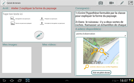 Applications Android : Carnet de terrain (texte, photos, vidéos, coordonnées GPS, croquis…) | | dixmois | Scoop.it