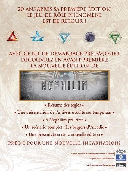 Télécharger le Kit de Démarrage Nephilim 20 ans | L'univers des jeux | Scoop.it