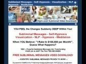 Subliminal Messages, Self-Hypnosis, Visualization, NLP, Hypnosis, Meditation | TICs. En Salud y Alternativas Médicas Innovadoras | Scoop.it
