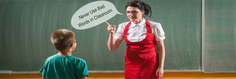 What to Do When Children Use Bad Words in Classroom | Infant & Child Care | Scoop.it
