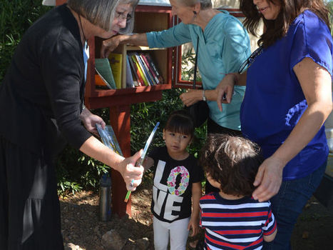 FEEDING THE MIND: Little Free Library opens at food bank | Reading discovery | Scoop.it