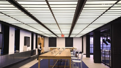 Inside Samsung 837: Samsung's first North American flagship | Digital Innovation in Retail | Scoop.it