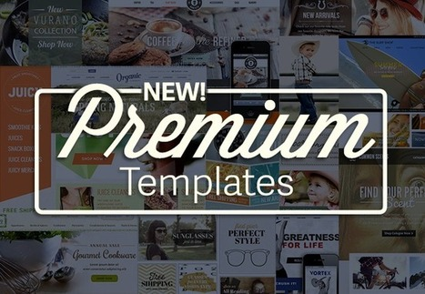 Announcing 10 New Premium Ecommerce Templates for the New Year | Digital-News on Scoop.it today | Scoop.it