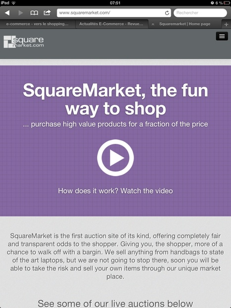 Square Market, la place de marché e-commerce lancée ... | e-commerce | Scoop.it