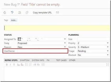 Text field in a work item changes to valid user drop down after upgrade to TFS 2015 | Visual Studio ALM | Scoop.it