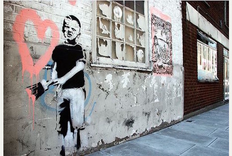 Amsterdam's first Banksy goes on display | Créativité urbaine | Scoop.it