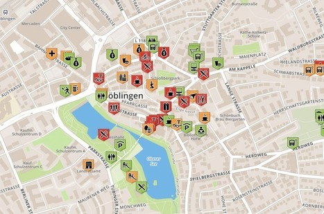 Making smart cities work for people. No. 5. Böblingen's crowdsourced accessibility maps | Participatory & collaborative design | Diseño participativo y colaborativo | Scoop.it