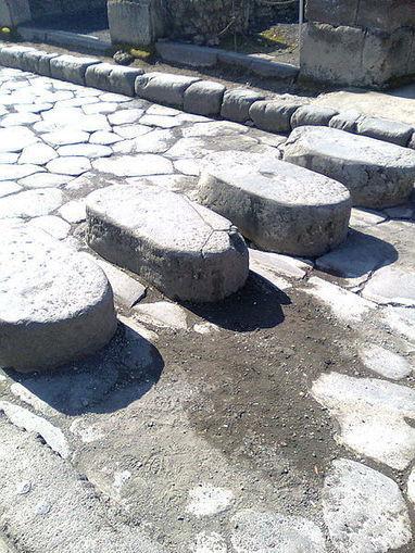 ¿Pasos de peatones en la Antigua Roma? | Mundo Clásico | Scoop.it