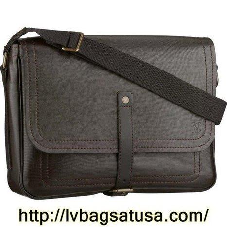 Louis Vuitton  Messenger Utah Leather M92071 | Louis Vuitton Outlet Online Usa | Scoop.it