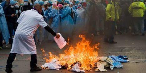 Les infirmiers anesthésistes en grève pour de meilleurs salaires   Professionnels de Santé   Scoop.it