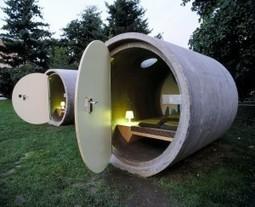 Nuit insolite en Autriche : dormir dans un tube de béton | L'espace info pro des offices de tourisme de Bièvre-Valloire | Scoop.it