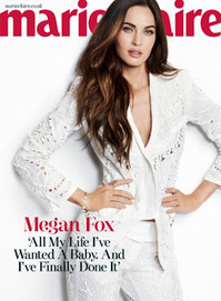Megan Fox in Dolce and Gabbana: Marie Claire UK March 2013 ~ Krazy Fashion Rocks | Fashion and Style | Scoop.it