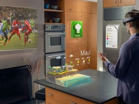 Microsoft's HoloLens' Release Date | 3D Virtual-Real Worlds: Ed Tech | Scoop.it