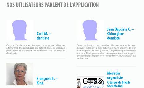 Natom Viewer, l'application d'images médicales testée et approuvée | La revue de presse de Callimedia | Scoop.it