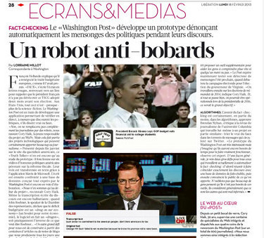 Un robot anti-bobards | DocPresseESJ | Scoop.it