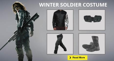 Ultimate Captain America Civil War Winter Soldier Costume Guide | celebrities Leather Jackets | Scoop.it