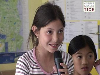 L'Agence nationale des Usages des TICE - Visioconférence en anglais à l'école primaire | Theghost | Scoop.it