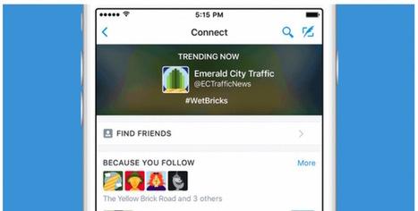 Twitter lanza Connect, una nueva forma de buscar cuentas a las que seguir. | Information Technology & Social Media News | Scoop.it