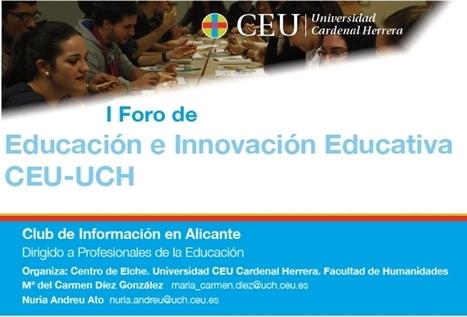 tuXc Coaching  participará en el                       I Foro de Educación e Innovación Educativa CEU-UCH | La educación del futuro | Scoop.it