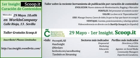 Primer #ScoopitLAB en español: miércoles 29 de mayo a las 18h00 | #Coolhunting Empresarial | Scoop.it