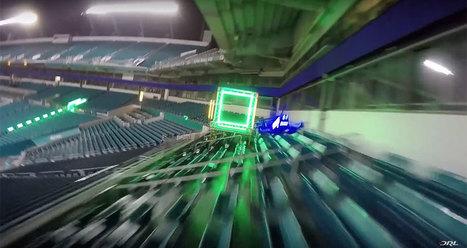 Drone Racing League : les premières images sont arrivées ! - H+ Magazine | Des robots et des drones | Scoop.it