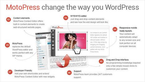 Transform WordPress into a WYSIWYG with MotoPress | Communication design | Scoop.it