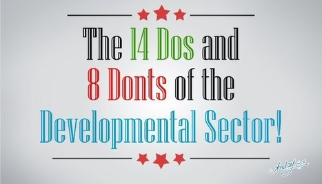 The Dos & Don'ts of the Developmental Sector | Personal Development, Self Improvement & Capacity Building | Scoop.it