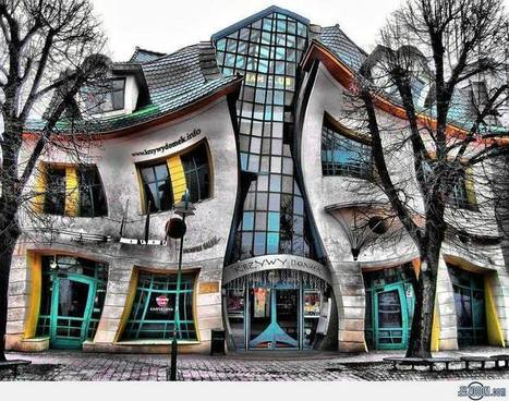 Little Crooked House in Sopot   Architecture on the world   Scoop.it