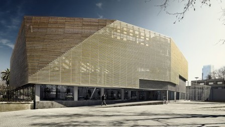[Barcelona, Spain] Sports Facility / Batlle i Roig Arquitectes | The Architecture of the City | Scoop.it