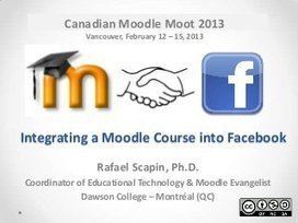 Integrating a Moodle Course into Facebook | Innoteds. Innovación en Tecnologías Educativas | mOOdle_ation[s] | Scoop.it