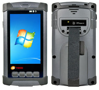 Rugged 4.3-inch mobile POS PDA runs either Windows 7 or Android, can ... - Rugged PC Review | Geomobile | Scoop.it